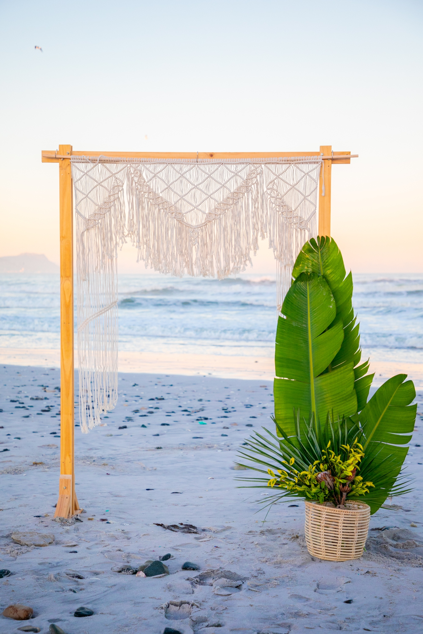 the goddess wedding backdrop