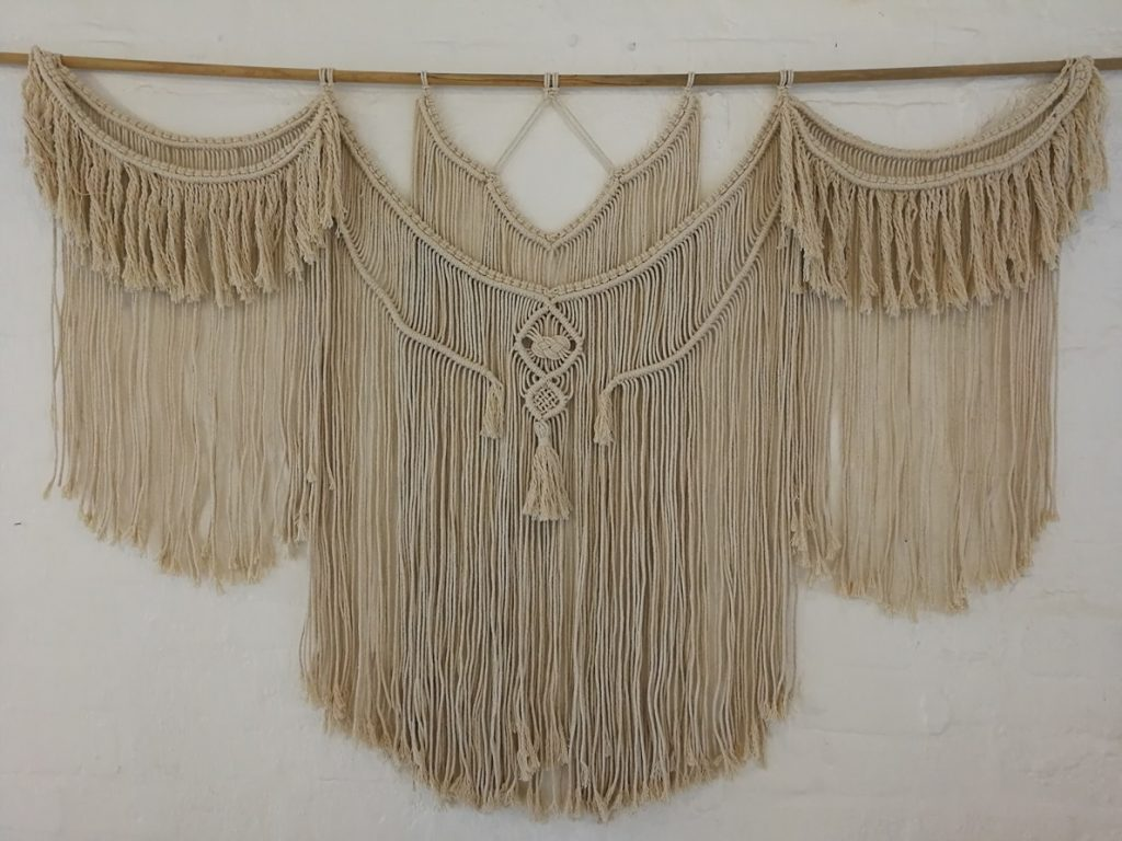 huge macrame wallhanger