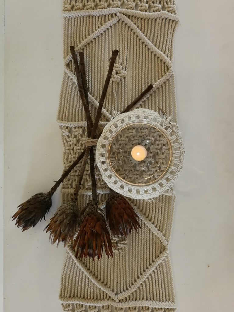 macrame home decor