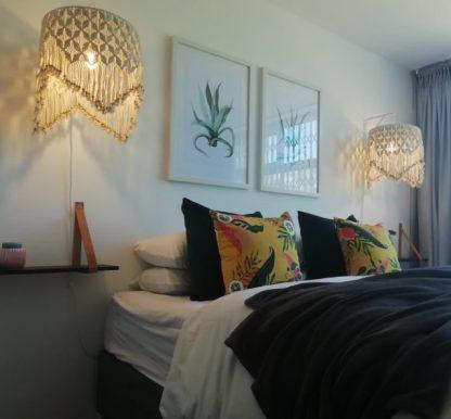 macrame lampshades