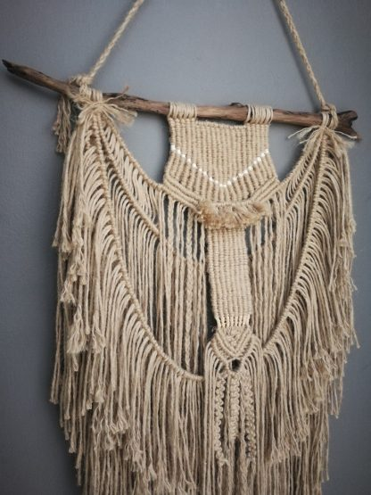 detailed macrame wallhanger by No Negative