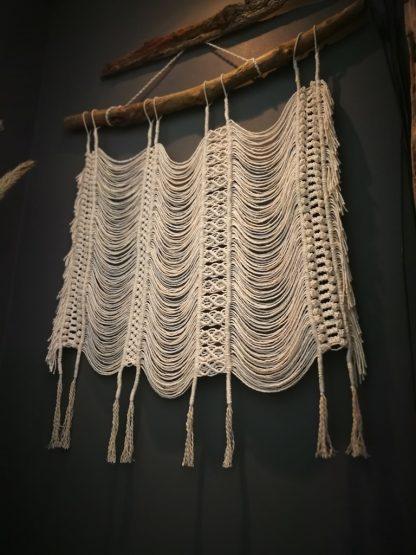 fluid motion wall hanger