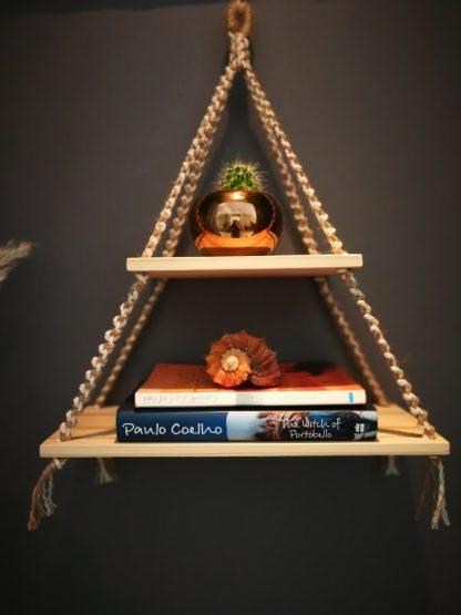jute double shelf