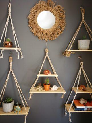 Macrame Shelves