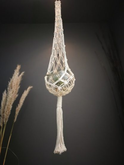 natural candle nest
